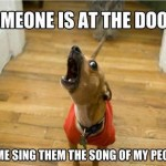Someone At The Door…